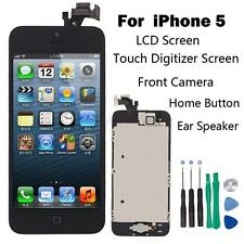 Full Set LCD Touch Screen Digitizer Assembly Replacement for iPhone 5 Black