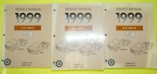 New ListingGenuine 1999 Chevy C/K Truck with New Body Style Factory Service Shop Manual Set