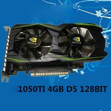 Desktop Card GTX1050Ti 4GB DDR 5 128bit HDMI DVI VGA DVI Video Card