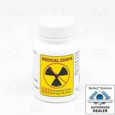 Medical Corps KIO3 Potassium Iodate Nuclear Anti-Radiation 90 pills 85mg
