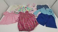8 Piece Girl's Mixed Clothing Lot Size 2T / 24 Months Baby Clothes Bundle Multi