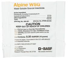 Alpine WSG Single-dose Packet (10g pkt) Flea Bedbug Roach Control