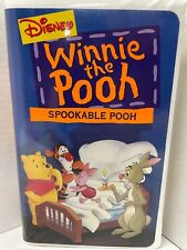 "Disney's Winnie the Pooh - ""Spookable Pooh"" - VHS"