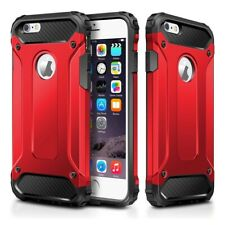 Hybrid Red Armour Case for iPhone 7, iPhone 8, iPhone SE 2020, Back Cover
