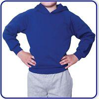 "Leonard Hudson School Plain Hoodies Good Quality Boys Girls sizes 22""-34"" (0258)"