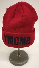 YMCMB Beanie Skully Red With Black Embroidered Rare One Of One Nice New