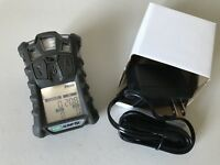 MSA Altair 4X multigas Monitor detector, O2,H2S,CO,LEL calibrated W/ Charger