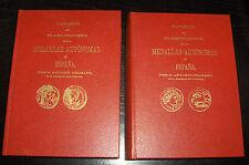 014-INDALO- Antonio Delgado. Monedas Ibéricas. Tomos I-II-III y Láminas !!!!!!!!