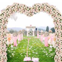 4Pack Artificial Hydrangea Flowers Fake Silk Bouquet Flower Wedding Home Decor