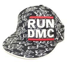 Run DMC Flat Bill King Of Rock Fitted Cap Hat Size Large/XL Hip Hop Rap Kicks