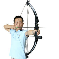 Outdoor Archery Hunting Black Adjustable Right Hand Compound Bow Target 30-40lbs