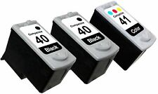 3PK FOR CANON PG 40 CL 41 PG40 CL41 0615B002 0617B002 PIXMA IP1200 IP1300 IP1600
