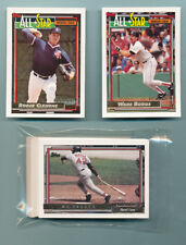 1992 Topps Gold Winners Team Set Boston Red Sox