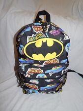 Batman Backpack Robin Figures Vintage NEW School Book Bag Purse Batmobile Tote