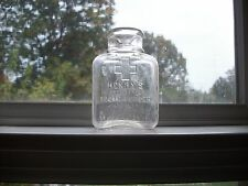 HENRY'S ANTISEPTIC TOOTH POWDER BURLINGTON IOWA MADE BY HENRY'S DRUG STORE 1890S