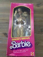 NRFB Mattel 1980 Vintage Golden Dream Barbie Doll # 1874  VGC!
