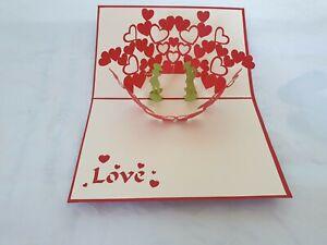 3d Popup Love Card
