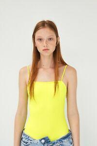 cherrie424: NWT Zara Neon Bodysuit