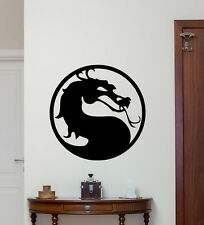 Mortal Kombat Wall Decal Dragon Logo Vinyl Sticker Kids Room Poster Mural 238hor