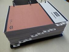 Case 850C, 855C Crawler Dozer Bulldozer Service Manual Repair Shop NEW w/Binder