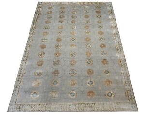 "12X16 Modern Nepalese Fine Hand-Knotted Wool & Silk Rug Carpet (11'9"" x 16'2"")"