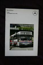 MERCEDES BENZ O405 SLII 1983 bus brochure catalog - English