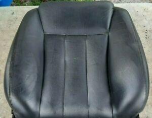 94-96 Infiniti Q45 Passenger Right Front Seat Back Cushion Black Leather *Worn