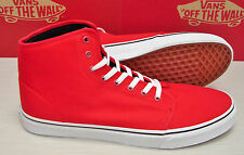Vans 106 Hi Red True White Men's Size 11.5