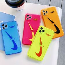 Neon Nike AIR Fashion Phone Case Cover For iPhone11 11Pro 7 8Plus XR XS Max XS X