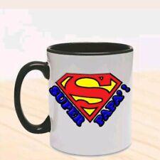 Tazza Super Papà, Superman inspired, idea regalo personalizzabile festa del papà
