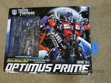 Takara Tomy Transformers Lot DMK 01 OPTIMUS PRIME DOTM DUAL MODEL KIT 1/35 Scale