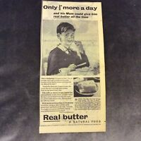 Advertisement - Real Butter - UK - 1957