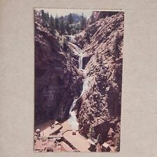 Vintage Postcard Famous Seven Falls, South Cheyenne Canyon, Colorado