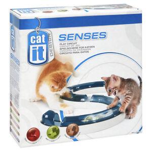Catit Senses Cat Kitten Activity Ball & Track Toy - Play Circuit