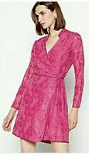 MW  by  Matthew Williamson Hot Pink Wrap Dress Size 12 BNWT