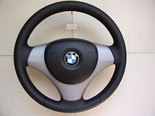 BMW 1/3/X1 E82 E87 E90 E92 E84 NEW FACTORY LEATHER SPORT STEERING WHEEL w/AIRBAG