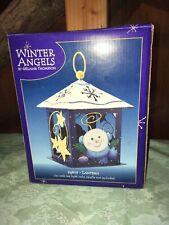 Winter Angels Holiday Votive Lantern 9� New