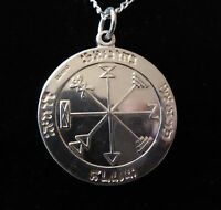 STERLING SILVER GOOD LUCK TALISMAN Occult Magic Amulet Magick Witchcraft Wicca