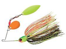 Booyah Pond Magic Spinnerbait - 3/16 Oz - Firebug, Bass Redfin Perch Lure