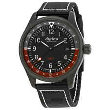 Alpina Startimer Pilot GMT Black Dial Men's Watch AL-247BR4FBS6