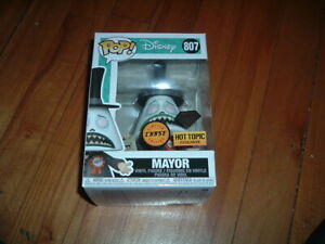 FUNKO POP! MAYOR #807~ HOT TOPIC EXCLUSIVE~ LIMITED EDITION CHASE~ MINT~ DIAMOND