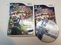 Super Smash Bros. Brawl (Nintendo Wii, 2008) COMPLETE ** FAST SHIPPING ***