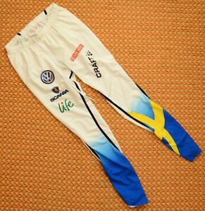 Sweden Ski Team - Women Cross Country reunning Pants by Craft, Size Large