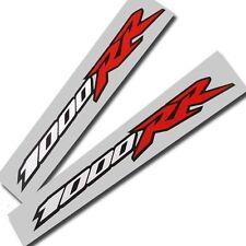 1000rr Fireblade Motorrad Aufkleber Grafik Sticker Rot, Weiß und Schwarz 2 Stück