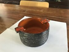 Tubelined Ceramic Ashtray Tile Mid Century Pottery Amphora Perignem Belgium Art