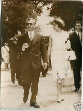 Photo, By Publifoto 1961, Royalty, Shah Of Persia And Farah Diba In Rome m