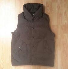 +J Uniqlo -  Premium Down Gilet - Medium - Brown - Puffer Vest -