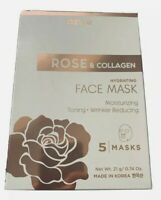 Rose Collagen Hydrating Under Eye Pads Under Eye Patches 5 Pairs Korea Wrinkles