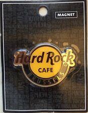 Hard Rock Café Logo Magnet Brussels Belgium Classic Logo Magnet
