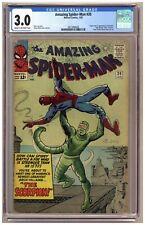 Amazing Spider-Man 20 (CGC 3.0) Origin and 1st appearance of Scorpion Ditko C109